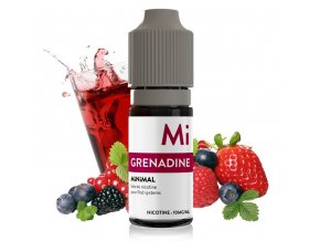 e liquid the fuu minimal grenadina grenadine 10ml