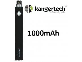 kangertech evod baterie 1000mah black cerna