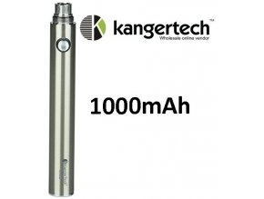 kangertech evod baterie 1000mah steel nerezova