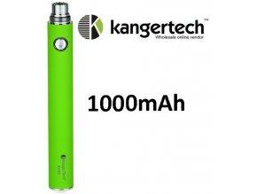 kangertech evod baterie 1000mah green zelena