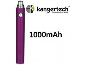 kangertech evod baterie 1000mah purple fialova