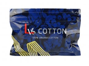 lvs cotton prirodni vata pro elektronicke cigarety 10ks
