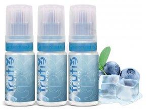 e liquid frutie cool boruvka blueberry 3x10ml