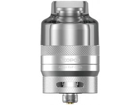 voopoo rta pod clearomizer 2ml silver stribrny