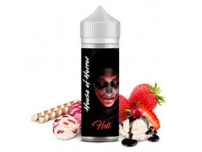 prichut house of horror hell vanilkova zmrzlina s jahodami 20ml