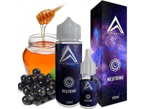prichut antimatter shake and vape neutrino cerny rybiz s medem 10ml