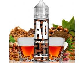 prichut alpha origins nutty tobacco tabak s orechy kokosem a whiskey 15ml