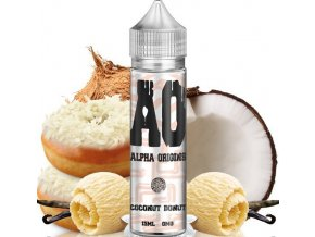 prichut alpha origins coconut donut kremova kobliha s kokosem 15ml