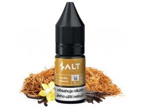 e liquid salt brew co vanilla tobacco tabak s vanilkou a karamelem 10ml