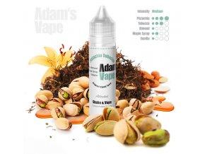 prichut adams vape pistachio tobacco pistaciovy tabak s mandlemi a sirupem 12ml