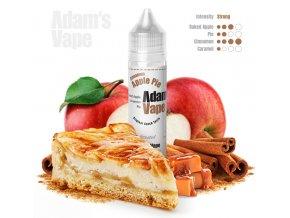 prichut adams vape cinnamon apple pie pecena jablka v karamelovem teste se skorici 12ml