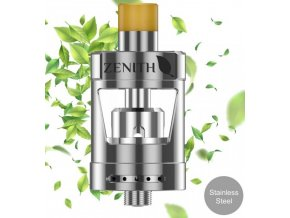 innokin zenith d24 upgrade clearomizer 4ml silver stribrny