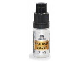 nikotinova baze imperia velvet 10ml pg20 vg80 3mg