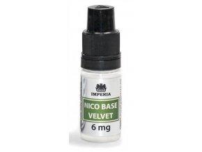 nikotinova baze imperia velvet 10ml pg20 vg80 6mg