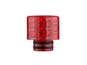snake pattern 510 naustek pro clearomizer red cerveny