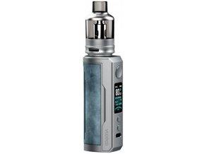 voopoo drag x plus 100w grip full kit 55ml prussian blue