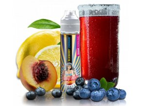 prichute pj empire slushy queen blueberry lemonade no ice 20ml