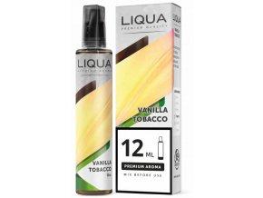 prichut liqua mixgo 12ml vanilla tobacco shake and vape