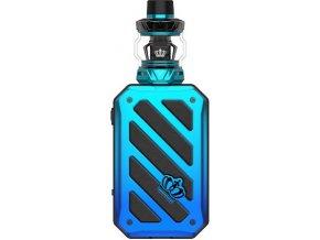 uwell crown 5 200w grip full kit blue modry