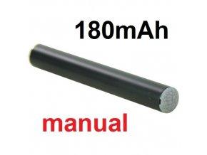 Baterie 180mAh 510 černá, manual pro elektronické cigarety