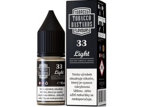 liquid flavormonks tobacco bastards salt no33 light 10ml 10mg 20mg