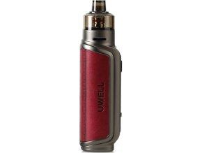 uwell aeglos p1 80w grip full kit wine red cervena