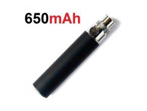 Baterie eGo 650mAh - černá  II. jakost - viz. detailní popis produktu