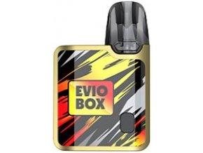 joyetech evio box pod elektronicka cigareta 1000mah golden flame