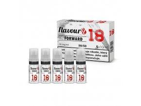 flavourit pg50 vg50 18mg 5x10ml forward