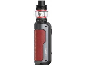 smoktech fortis 100w grip full kit red cerveny