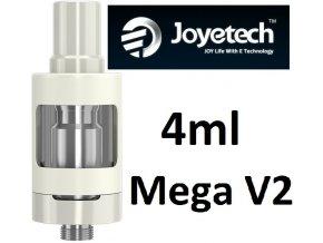 Joyetech eGo ONE Mega V2 clearomizer 4ml bílý
