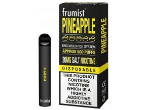 jednorazova elektronicka cigareta frumist pineapple ananas 20mg