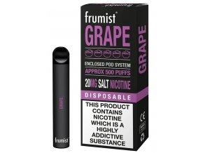 jednorazova elektronicka cigareta frumist grape hroznove vino 20mg