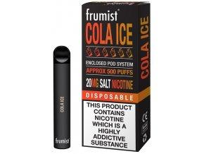 jednorazova elektronicka cigareta frumist cola ice 20mg