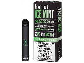 jednorazova elektronicka cigareta frumist ice mint mata 20mg