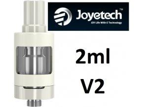 Joyetech eGo ONE V2 clearomizér 2ml bílý