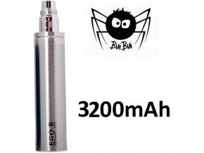 Baterie eGo 3200mAh - nerezová