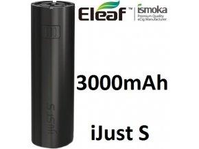 Baterie iSmoka-Eleaf iJust S 3000mAh černá