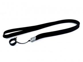 Šňůrka na krk pro elektronické cigarety eGo (černá)