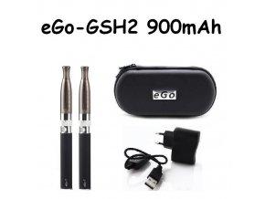 Elektronická cigareta eGo-GSH2 900mAh černá 2ks