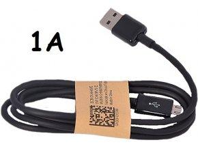Univerzální USB-MICRO USB kabel 1A černý (1000mA)