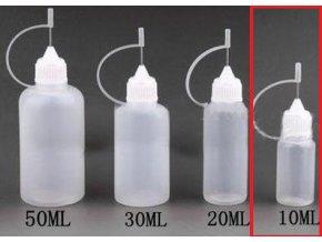 plnici lahvicka s jehlou 10ml