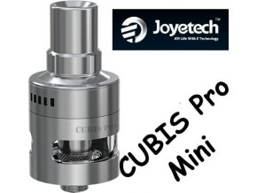 joyetech cubis pro mini clearomizer 2ml stribrny