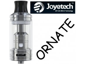 joyetech ornate clearomizer 6ml stribrny silver
