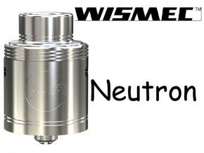 wismec neutron rda clearomizer silver