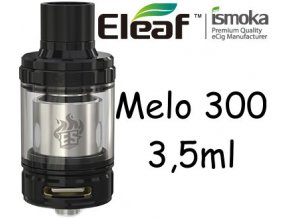 ismoka eleaf melo 300 clearomizer 35ml cerny
