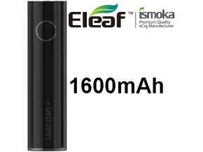 ismoka eleaf ijust start plus baterie 1600mah cerna