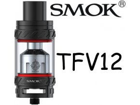 smok smoktech tfv12 beast clearomizer cerny