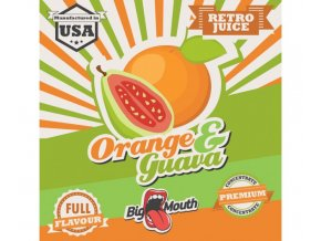prichut aroma na michani do bazi big mouth retro juice 10ml orange a guava