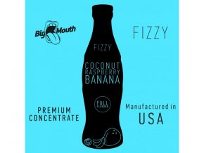 prichut aroma na michani do baze big mouth fizzy 10ml coconut raspberry banana